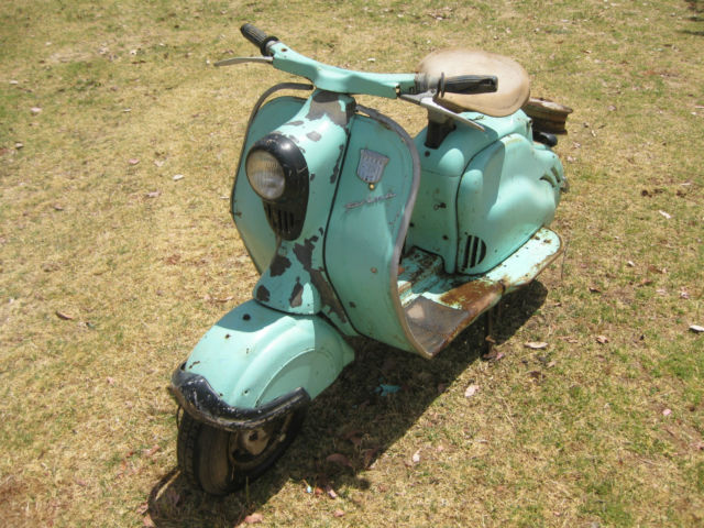 NSU Prima D 1960 Scooter Moped Vintage Motorcycle