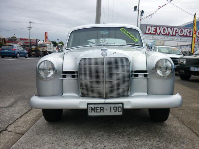 1960 Mercedes 190 B.
