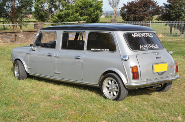 1978 Stretched Mini Limo Gt Classic Custom Limousine Leyland Clubman