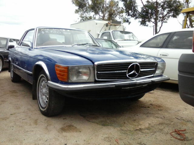 Mercedes-benz 350 SLC 2+2 (1974) 2D Coupe Automatic (3.5L - Fuel Injected) Seats