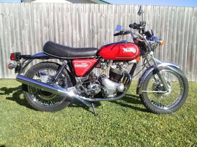 Norton Commando 850 1975 MK 3 Electric Start
