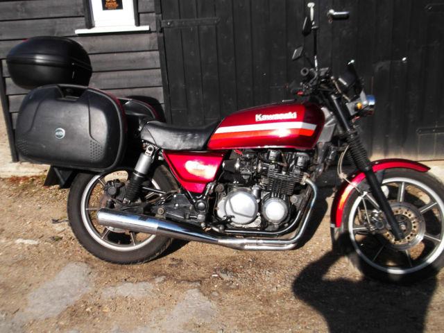 1989 KAWASAKI Z750-P5 RED