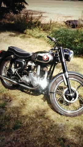 BSA B33 1959 rare alternator model