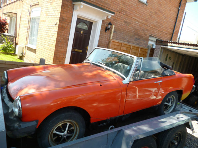 mg midget 1500,easy project, spares