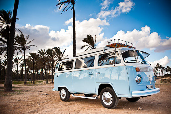 VW camper T2, not split screen, in spain