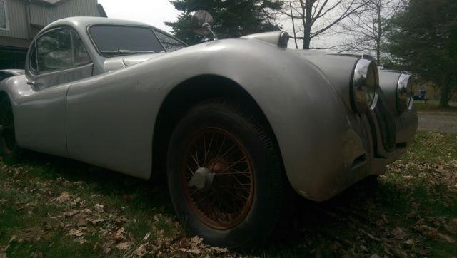 Jaguar : XK XK120 FHC