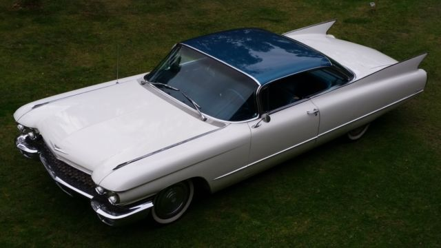 1960 Cadillac Coupe DeVille A/C, Power everything. Drives perfect. Looks great.