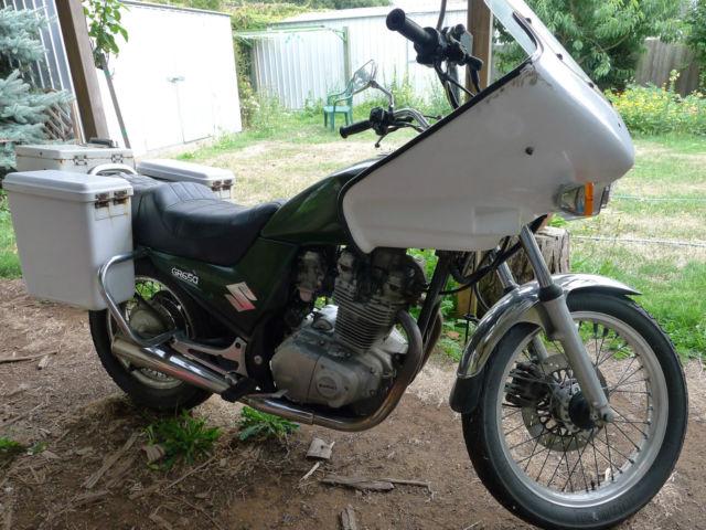 1988 Suzuki GR650