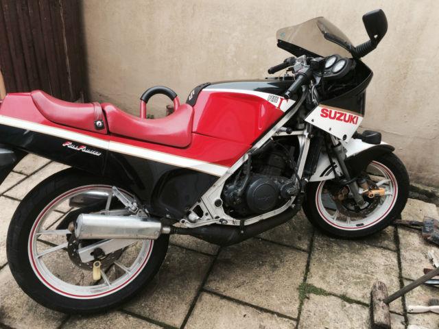 Suzuki RG 250 Very Rare motorbike/motorcycle!