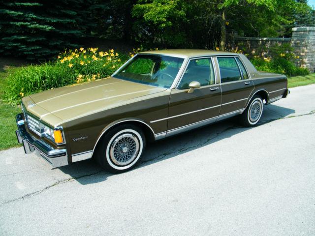 1981 Chevrolet Caprice