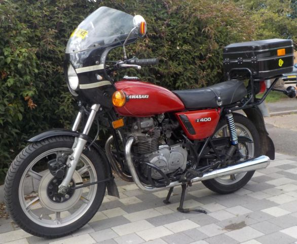 Kawasaki Z400 1979, One Owner, 21,000 Miles From New,
