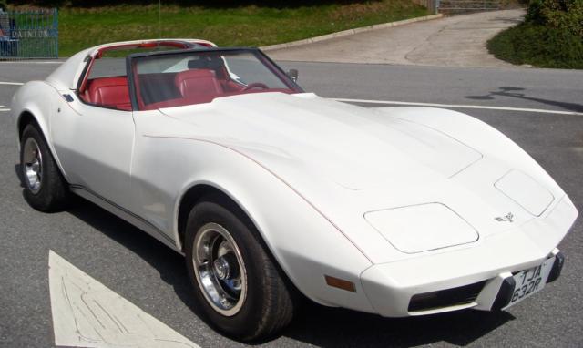 1977 (R) Corvette 5.7 Auto T Top Stunning Looks £8995