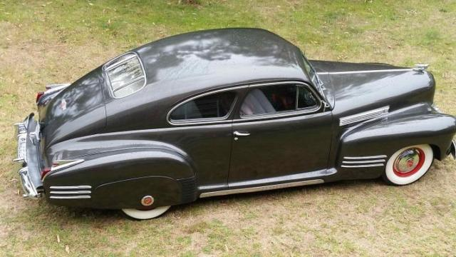 1941 Cadillac Deluxe Coupe Sedanet Fastback Not Pontiac Chevy Ford Buick Lincoln
