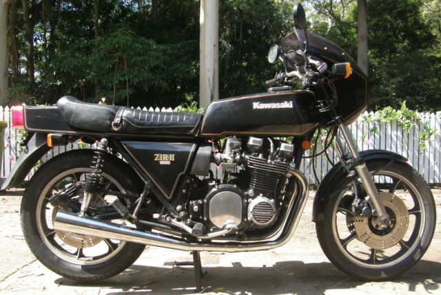 1979 KAWASAKI Z1R2 BLACK NEAR ORIGINAL CONDITION Z1RMKII Z1RII Z1R Z900