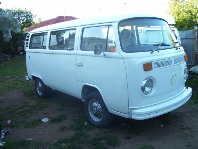 VW 1977 Kombi Van