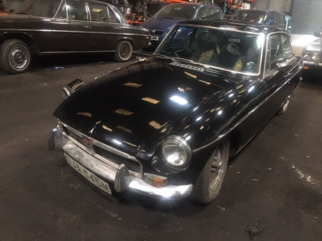 1973 MGB GT BARN FIND PROJECT TAX EXEMPT