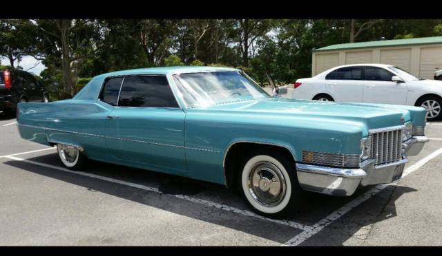 1970 cadillac coupe deville for sale cornubia qld australia report this advert publicscrutiny Image collections
