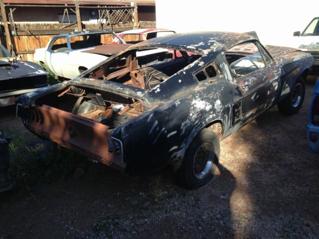 1967 Ford Mustang fastback  S Code Body shell