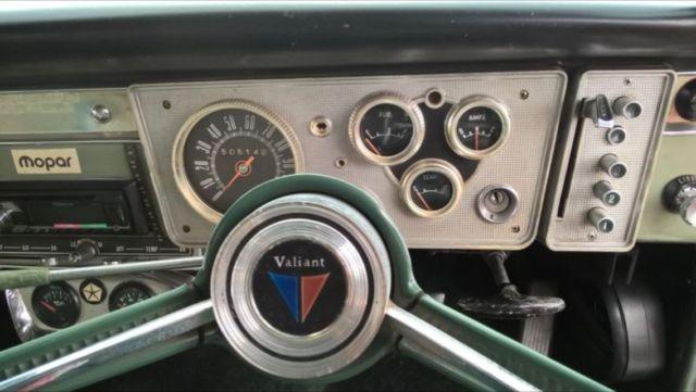 1964 CHRYSLER VALIANT REGAL SAFARI AP5 PUSH BUTTON