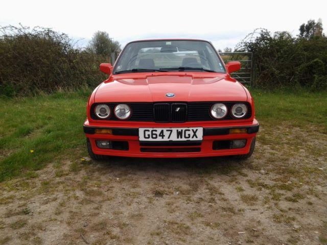 BMW E30 318 IS SPORT TWIN CAM 16 VALVE 1990 LEFT HAND DRIVE CLASSIC BARGAIN MOT