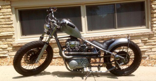 1977 Yamaha XS650 Custom Bobber Rat Bike