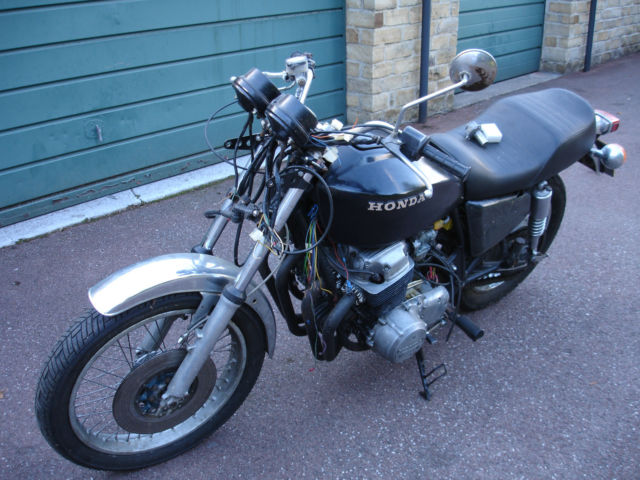 Honda CB750 Project, Cafe Racer, Barn Shed Find