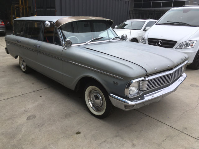 1965 FORD XP STATION RARE MANUAL RAT ROD READY TO ENJOY OR RESTORE