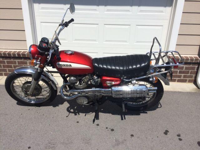 1970 Honda CL450 Scrambler