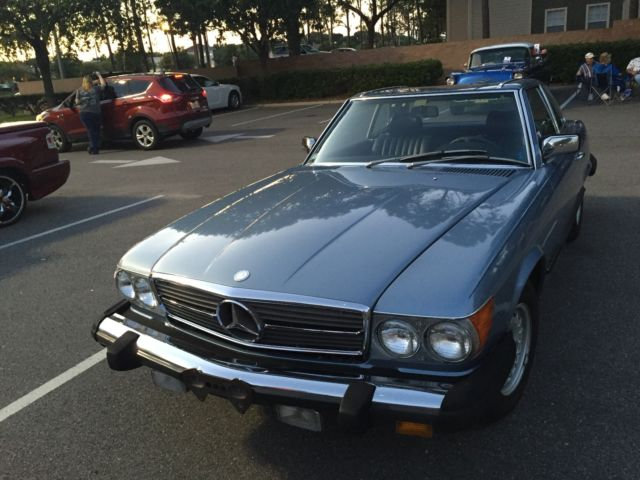 1985 Mercedes-Benz 380sl TWO Owners only Excellent condition,Blue