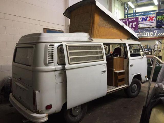 1972 VW Camper Van Westfalia
