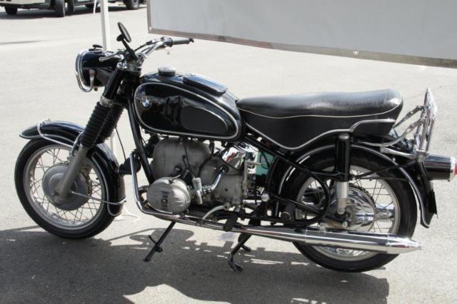 BMW 1968 Black R60S 600cc Motorbike