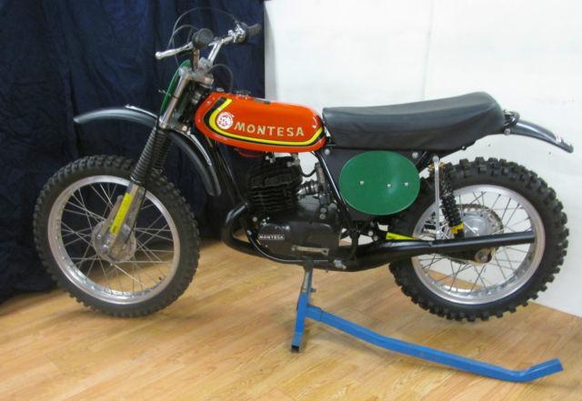1973 Montessa King Scorpion UR 250 MX VINTAGE AHRMA