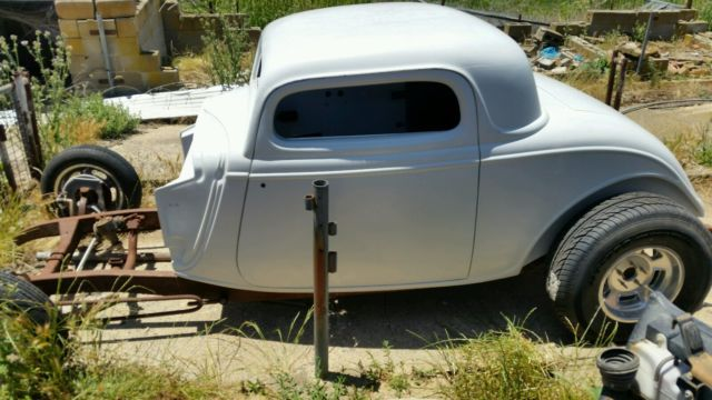 Hotrod 34 Coupe Project