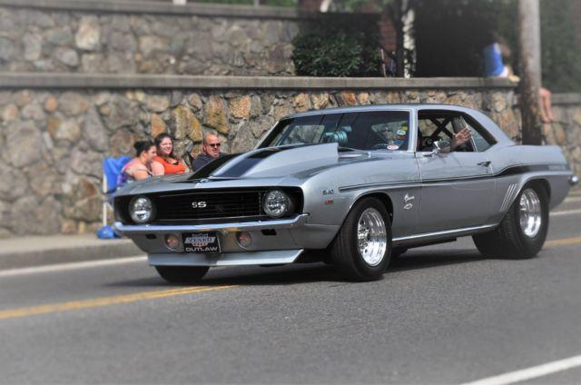 1969 Chevrolet Camaro Yenko Replica Pro Street,Silver,Auto, Appraisal/$80,000