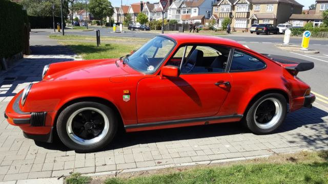 1983 PORSCHE 911 SC - BACKDATE PROJECT COMPLETE WITH ALL PANELS