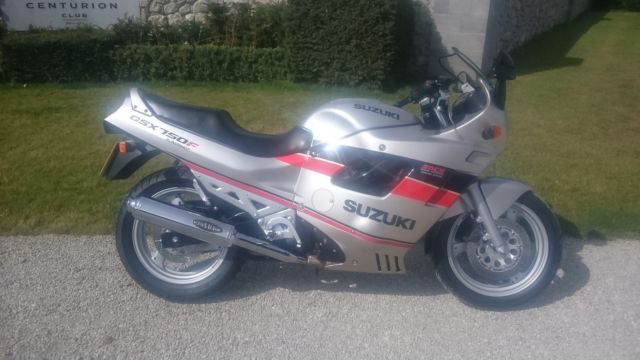 SUZUKI GSX750F SLINGSHOT. 1990. LOW MILES AND LOVELY. FUTURE CLASSIC/COLLECTORS.