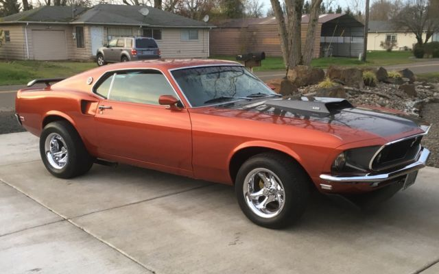 1969 Mustang 429 Mach One Resto muscle car classic hot rod