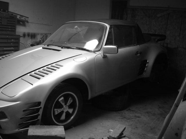 Porsche 911 Prototype New Antique Vintage Lot  Rare Fine Art Collection Signed!