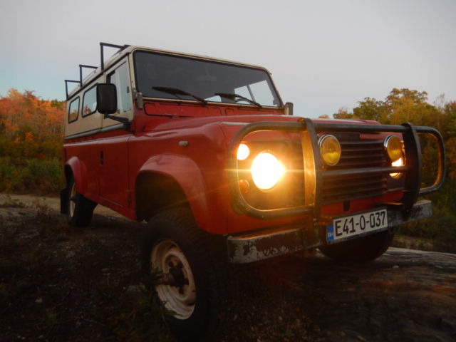 1985 Land Rover 110 Defender 2.5 Diesel Left Hand Drive 5 Speed