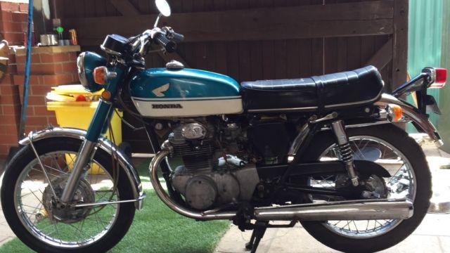Vintage Honda CB350 Super Sport 68-69