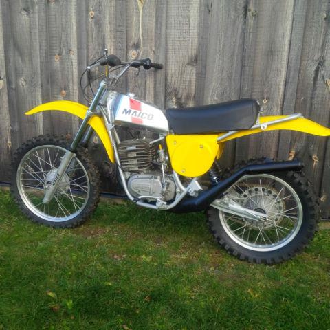 1976 Maico MC 440 - with parts bike MC400