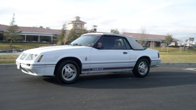 1984 1/2 Mustang G.T.350 Convertible 20th Anniversary