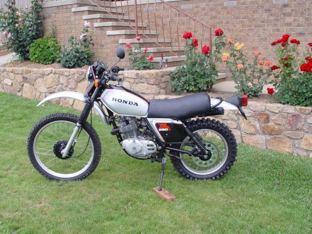 Honda XL 250S 1981