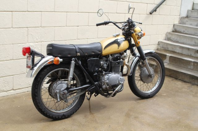 1971 honda cl350
