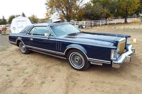 79 lincoln mark v collector series