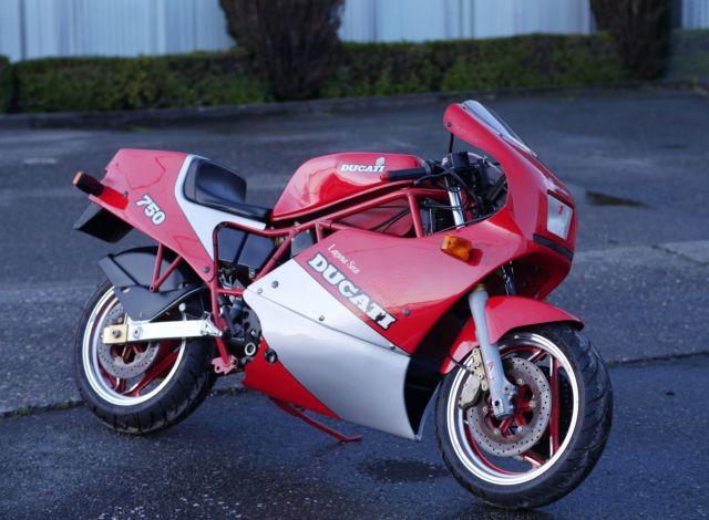 1987 Ducati 750 F1 Laguna Seca - 1600 orig. miles - time capsule