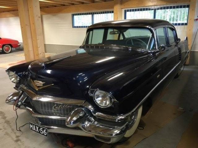 Cadillac DeVille 4d 1956 Drived only 12000 miles, real survivor.