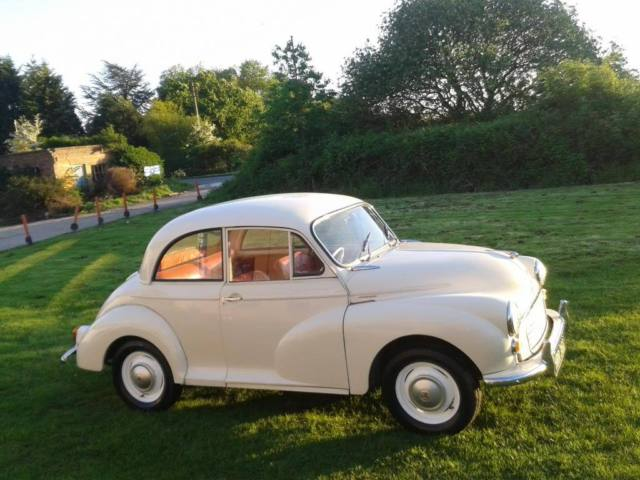 1966 MORRIS MINOR 1000 WHITE - Restored