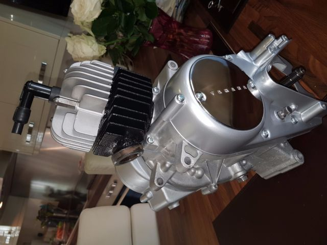 Yamaha FS1E Engine early Long shaft Complete refurbish