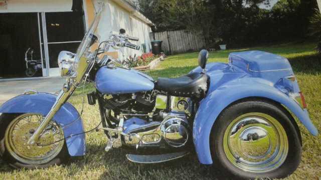 !977 Harley Trike